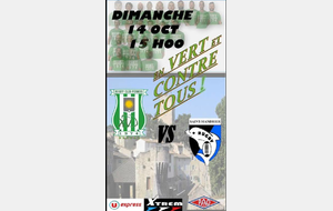 MATCH SENIORS 14 OCTOBRE